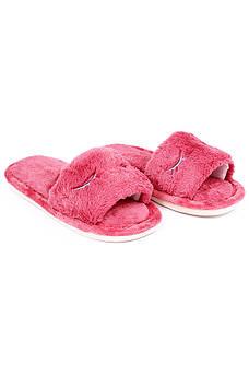 Шлепки комнатные девочка темно-розовые AAA 126665M