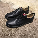 Christian Louboutin Louis Junior Men's Flat Black, фото 7