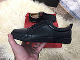 Christian Louboutin Louis Junior Men's Flat Black, фото 10