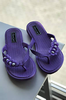 Вьетнамки женские фиолетовые 118570M