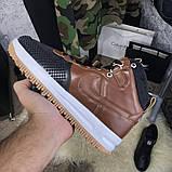 Nike Lunar Force 1 Duckboot Brown, фото 10