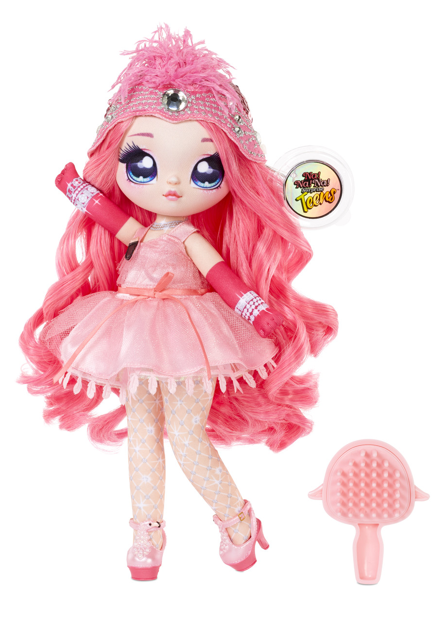 Большая кукла Na Na Na Surprise серии Teens Коко Фон Спаркл  28 см 572596
