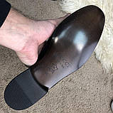 Gucci Princetown Leather Slipper with Double G Blue, фото 9