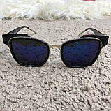 Dior Sunglasses Sideral 1 J6C/KU Black/Blue, фото 6