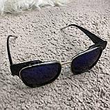 Dior Sunglasses Sideral 1 J6C/KU Black/Blue, фото 7