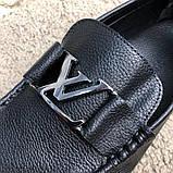 Louis Vuitton Moccasins Raspail Black, фото 6
