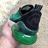 Nike Air Max 270 Black/Green, фото 5