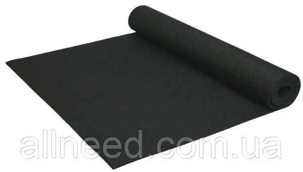 Йогамат MS1847 ПВХ (Чорный)