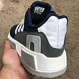 Adidas EQT Cushion ADV Blue/Gray/White, фото 6