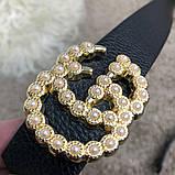 Gucci Belt Double G Pearl Black, фото 5