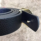 Gucci Belt Double G Pearl Black, фото 8