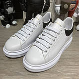Alexandr McQueen Oversized White/Black, фото 2