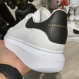 Alexandr McQueen Oversized White/Black, фото 3