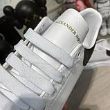 Alexandr McQueen Oversized White/Black, фото 5