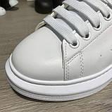 Alexandr McQueen Oversized White/Black, фото 6