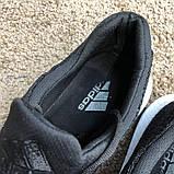 Adidas UltraBoost Flyknit Black/White, фото 4