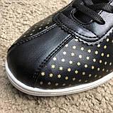 Gucci Falacer Sneaker Golden Stars Black, фото 3