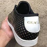 Gucci Falacer Sneaker Golden Stars Black, фото 7