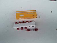Автолампы T10 W5W без цокольные для габаритов (красные)., фото 1