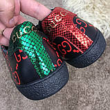 Gucci Ace Sneaker with GG Print Black, фото 7
