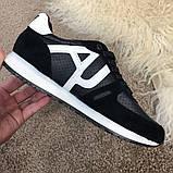 Emporio Armani AJ Sneakers Black/White, фото 2