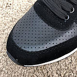 Emporio Armani AJ Sneakers Black/White, фото 5