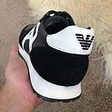 Emporio Armani AJ Sneakers Black/White, фото 6