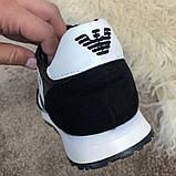 Emporio Armani AJ Sneakers Black/White, фото 8