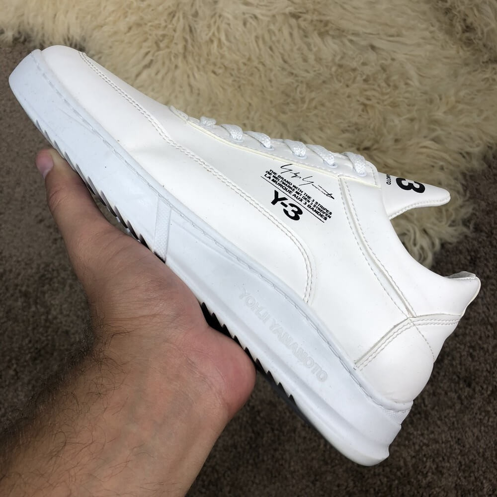 Adidas Y-3 Bashyo Sneakers White
