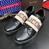 Gucci Stripe Sneaker Black, фото 6