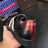 Gucci Stripe Sneaker Black, фото 9