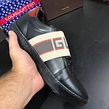Gucci Stripe Sneaker Black, фото 10
