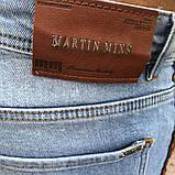 Martin Mixs Bleached Web Light Blue Jeans, фото 8