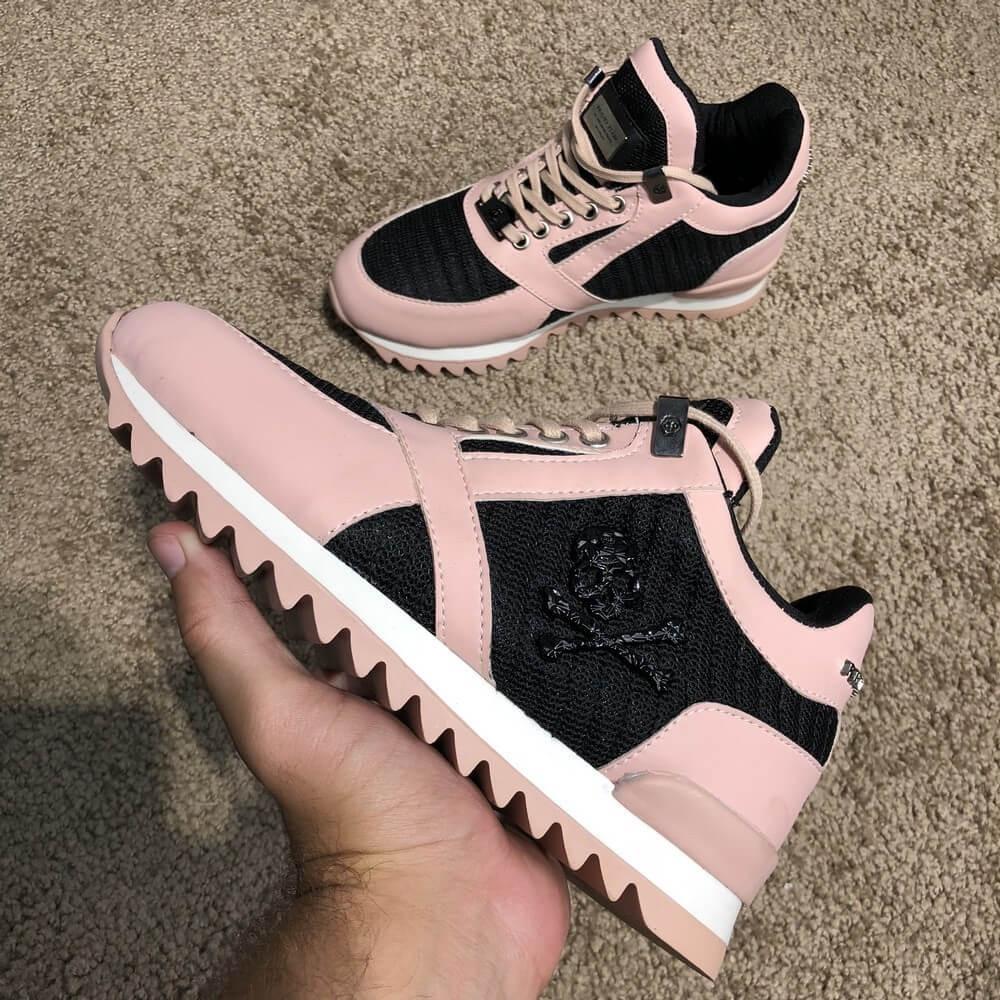Philipp Plein Runner Sky Pink/Black