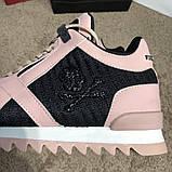 Philipp Plein Runner Sky Pink/Black, фото 2