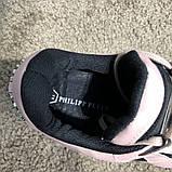 Philipp Plein Runner Sky Pink/Black, фото 5