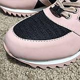 Philipp Plein Runner Sky Pink/Black, фото 9