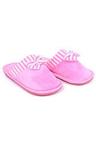 Тапочки комнатные девочка розовые AAA 126541P