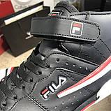 Fila Sneakers Fx100 Mid Black/White, фото 2