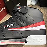 Fila Sneakers Fx100 Mid Black/White, фото 3