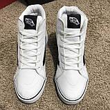 Vans Sk8 Hi Chex Skate Shoes White, фото 7