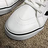 Vans Sk8 Hi Chex Skate Shoes White, фото 8