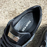 Philipp Plein Lo-Top Sneakers Hexagonal Black, фото 7