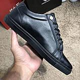 Philipp Plein Lo-Top Sneakers Hexagonal Black, фото 8