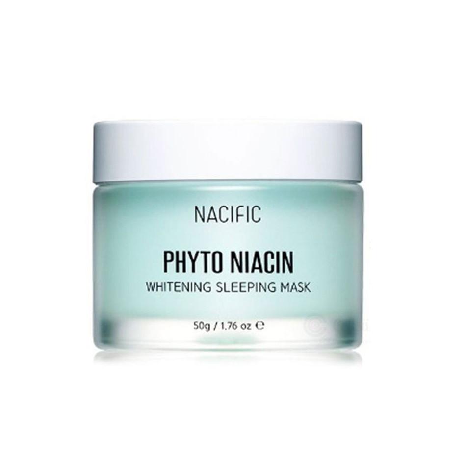 Nacific Phyto Niacin Whitening Sleeping Mask Осветляющая ночная маска, 50 мл