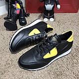 Fendi Sneakers Monster Eyes Yellow/Black, фото 4