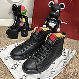 Gucci High Top Sneaker Black, фото 2