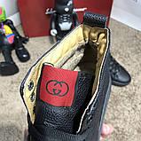 Gucci High Top Sneaker Black, фото 4