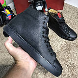 Gucci High Top Sneaker Black, фото 5