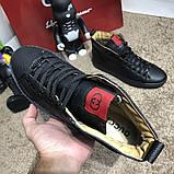 Gucci High Top Sneaker Black, фото 7